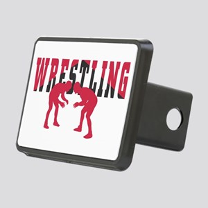 Wrestling 2 Rectangular Hitch Cover