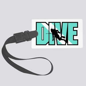 Dive Large Luggage Tag