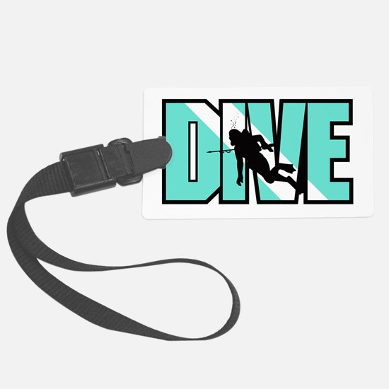Dive Luggage Tag