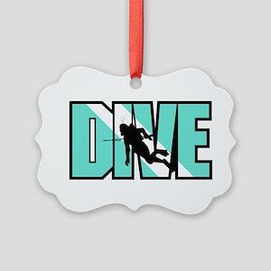 Dive Picture Ornament