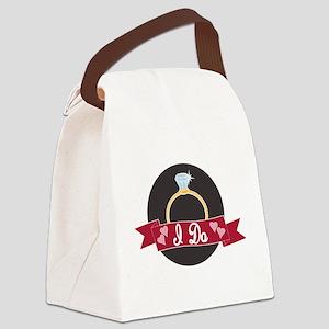 I do ring transparent Canvas Lunch Bag