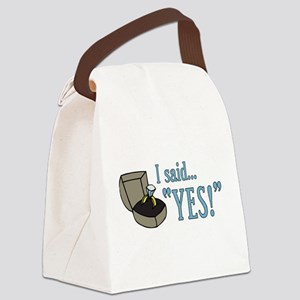 saidyes Canvas Lunch Bag