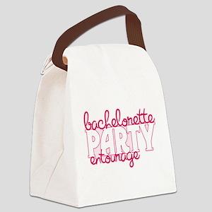 2-Bachelorette Party Entourage Canvas Lunch Ba