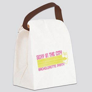 Sexy in the City Canvas Lunch Bag