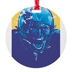 Football player Round Ornament