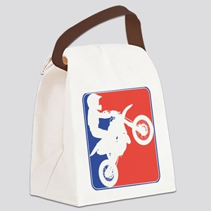 PeeWee Motocross Canvas Lunch Bag