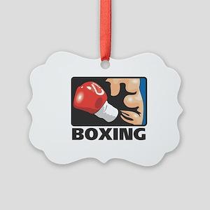 Boxing Picture Ornament