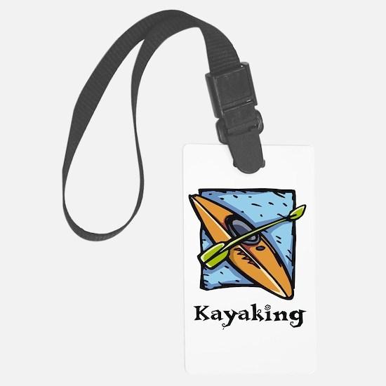 Kayaking Luggage Tag