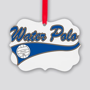 Water Polo 2 Picture Ornament