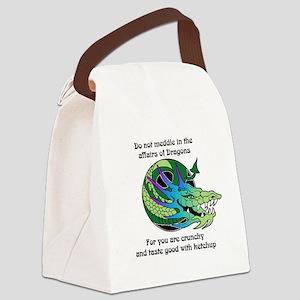 Dragon Crunchies Canvas Lunch Bag