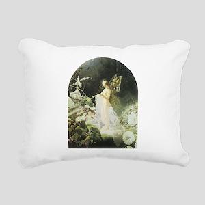Titania Rectangular Canvas Pillow