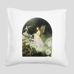 Titania Square Canvas Pillow