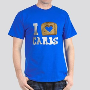 I Love Carbs! Dark T-Shirt