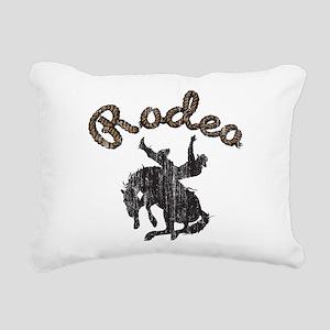 Retro Rodeo Rectangular Canvas Pillow
