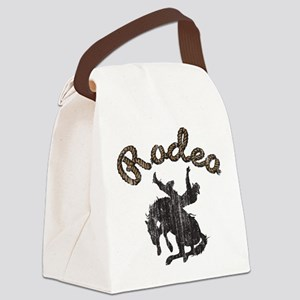 Retro Rodeo Canvas Lunch Bag