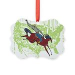 American Cowboy Picture Ornament