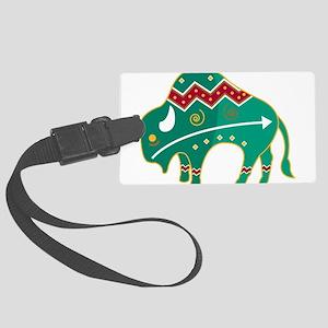 Indian Spirit Buffalo Large Luggage Tag