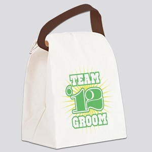 2012 Sage Emblem Star Groom Canvas Lunch Bag
