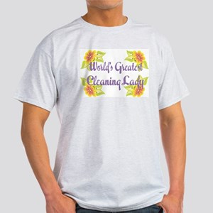 World's Greatest Cleaning Lad Ash Grey T-Shirt