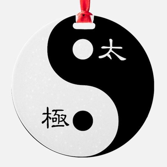 Tai Chi Yin Yang Symbol Ornament