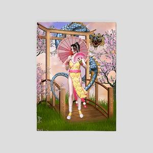 Orient Dream 5'x7'Area Rug