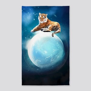 The Tiger 3'x5' Area Rug