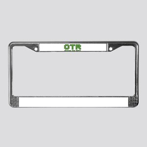 CTR Pac Man Green Choose the Right License Plate F