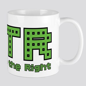 CTR Pac Man Green Choose the Right Mug