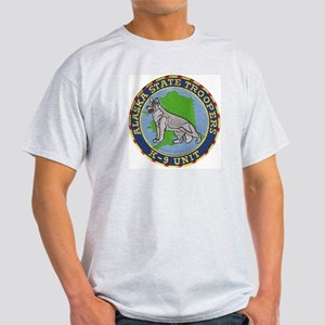 Alaska Trooper K9 Ash Grey T-Shirt