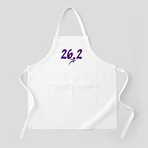 Purple 26.2 marathon Apron