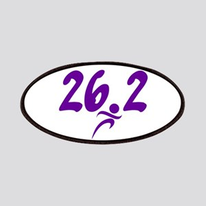 Purple 26.2 marathon Patches