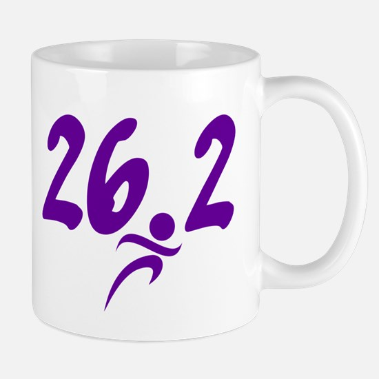 Purple 26.2 marathon Mug