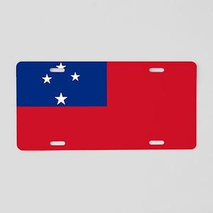 Samoa - Western Samoa - 1948-1949 Aluminum License