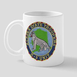 Alaska Trooper K9 Mug