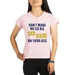 San Diego Football Performance Dry T-Shirt
