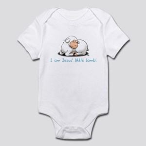 Jesus Little Lamb Boys Infant Bodysuit