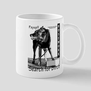 Nosework search for birch Malinois Mug