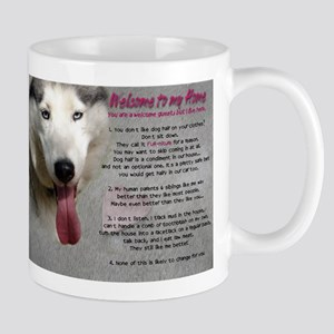 The Dog Lives Here. You Don't. Mug