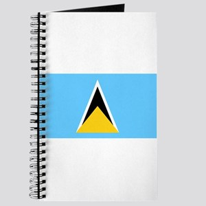 Saint Lucia - National Flag - Current Journal
