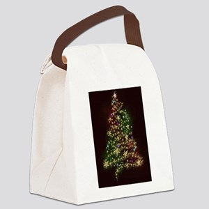 christmas1 Canvas Lunch Bag