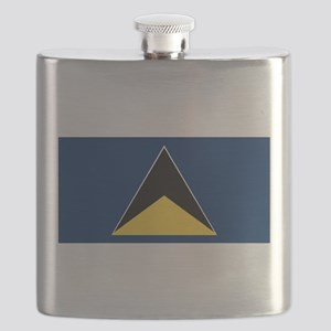 Saint Lucia - National Flag - 1967-1979 Flask