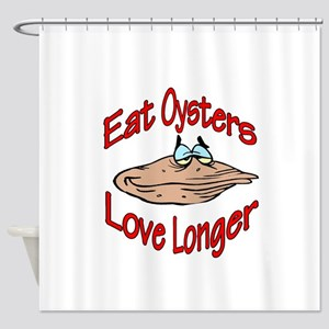eatoysters Shower Curtain