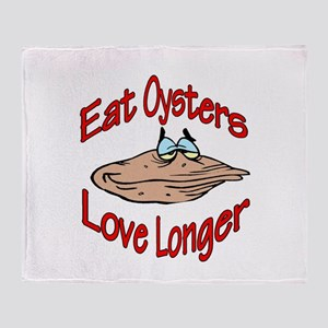 eatoysters Throw Blanket