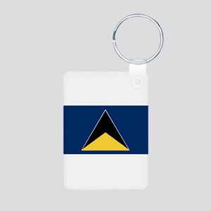 Saint Lucia - National Flag - 1967-1979 Aluminum P