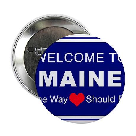 "Maine Love 2.25"" Button"