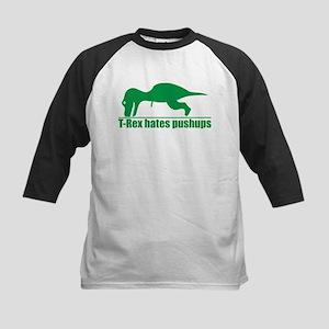 T-Rex Hates Pushups, Funny Dinosaur Kids Baseball