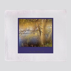 Enchanted nature 2 Throw Blanket