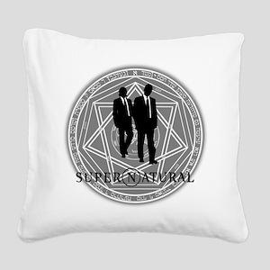 Supernatural Files Square Canvas Pillow
