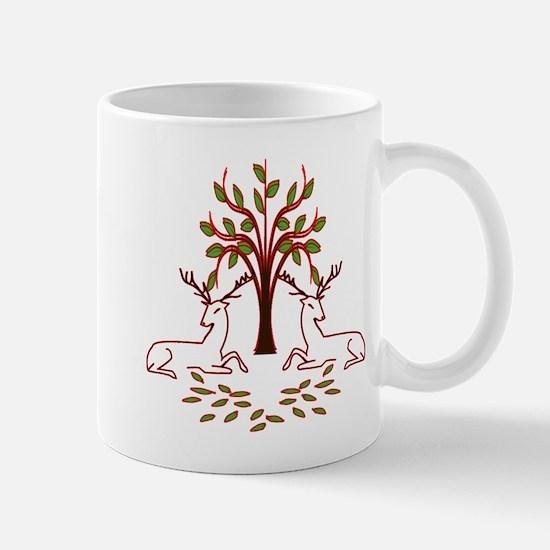 Resting Reindeer Mug