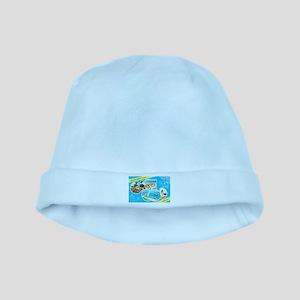 Cape Cod Massachusetts Greetings baby hat